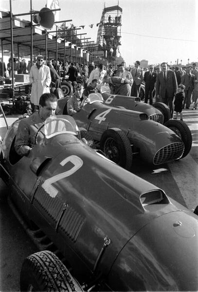 Ferrari, Ascari, klemcoll
