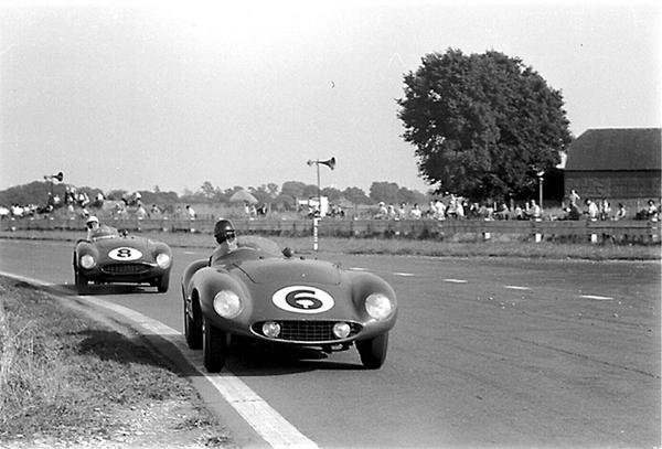 Ferrari, de portage, Goodwood, klemcoll