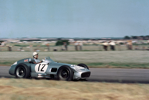 Mercedes-Benz, stirling moss, aimtree