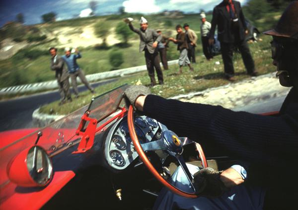 Ferrari, Mille Miglia, Collins, klemcoll