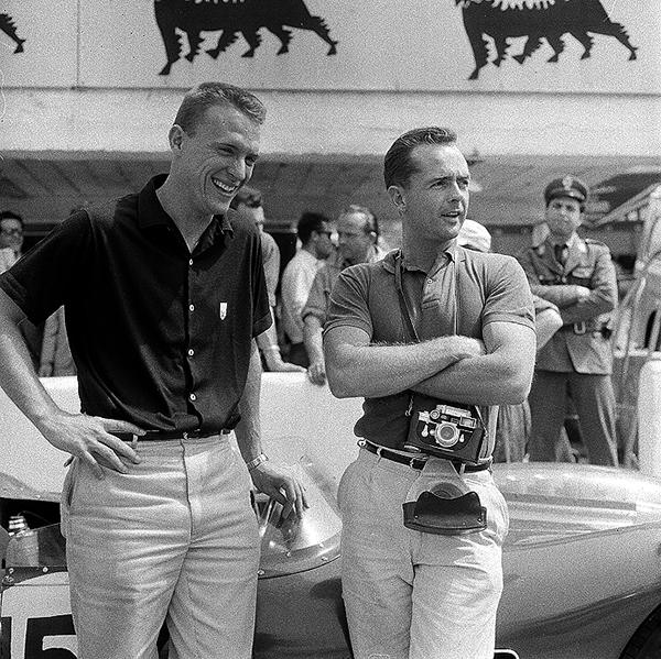 Dan Gurney, Phil Hill, Targa Florio, klemcoll