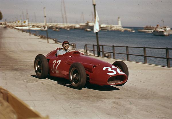 Fangio, Maserati, Monaco, klemcoll