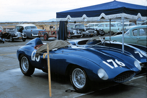 Ferrari, Palm Springs, Ernie McAfee, klemcoll