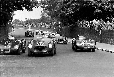 Ruesch, Ferrari, British Empire trophy, klemcoll