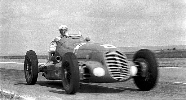 Villoresi, Reims Maserati, klemcoll