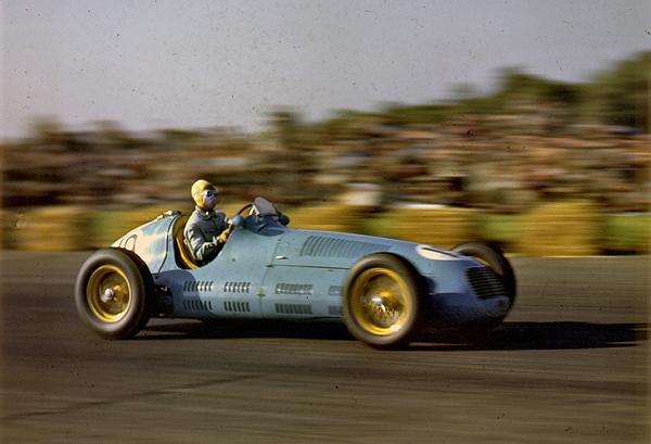Bira, Maserati Silverstone, klemcoll