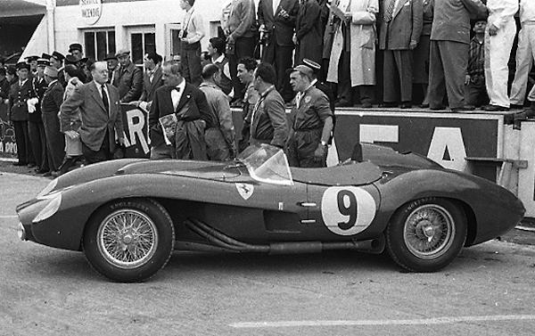 Ferrari klemcoll, Le mans
