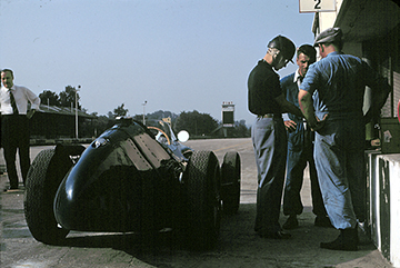 Maserati, Masten Gregory, Monza, klemcoll