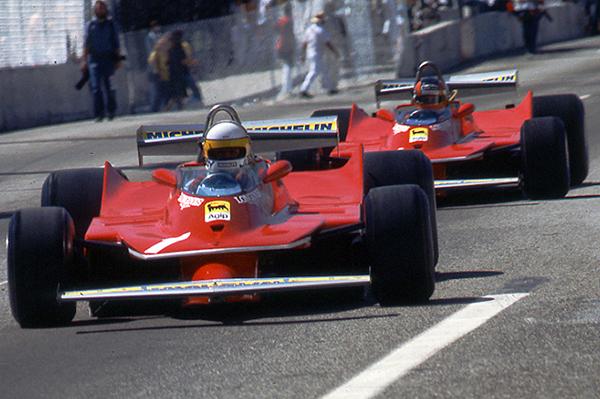 Ferrari, Long Beach,klemcoll, scheckter