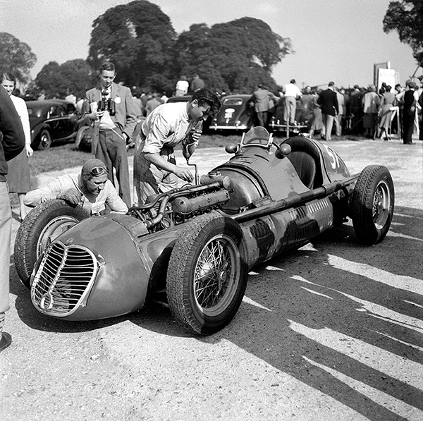 Maserati, Goodwood, klemcoll