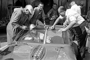 Ferrari, Pescara, Bandini, klemcoll