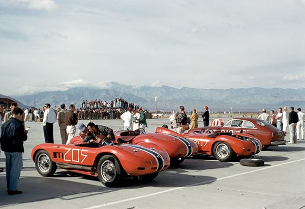 Shelby, Parravanop, Ferrari, klemcoll Palm Springs