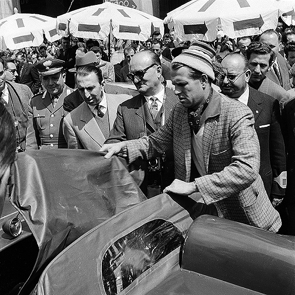 Ferrari, klemcoll, Peter Collins