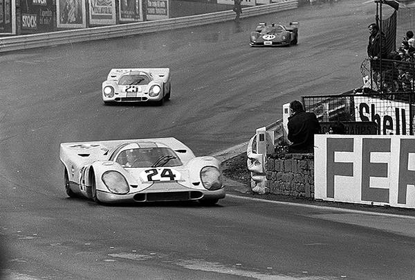 Eau Rouge, Spa-Francorchamps, klemcoll, Porsche