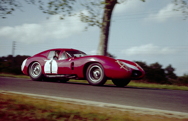 Maserati, Le mans, klemcoll, Stirling Moss