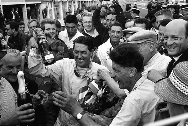 Jack Brabham, Reims, klemcoll, Cooper