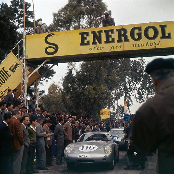 Porsche, Targa Florio, klemcoll, Abarth