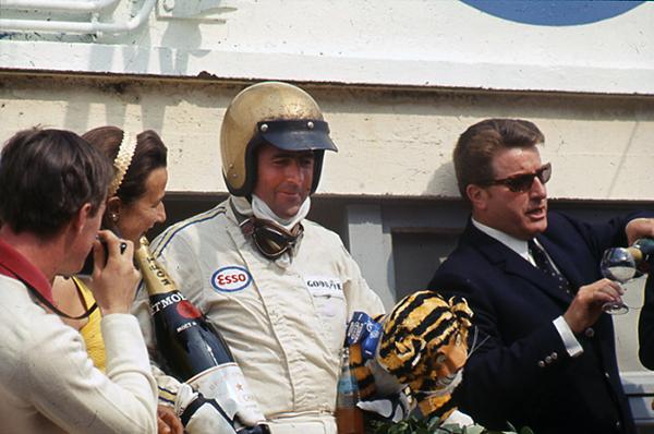 Jack Brabham, French GP, Le Mans klemcoll