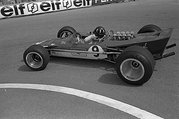 Graham Hill, Lotus, Monaco, klemcoll
