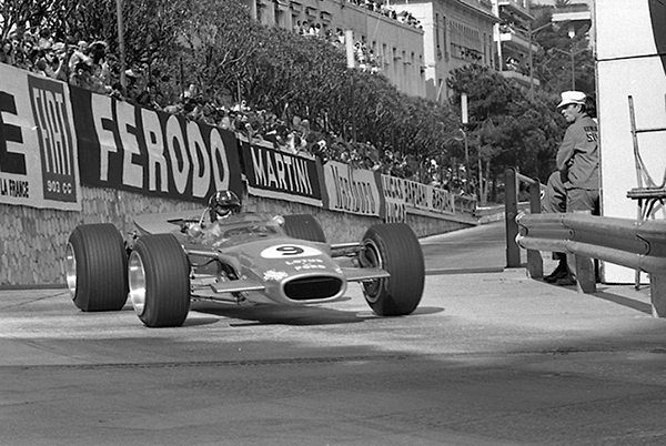 Graham Hill, Monaco, Lotus, klemcoll