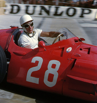 Maserati, Monaco Stirling Moss, klemcoll