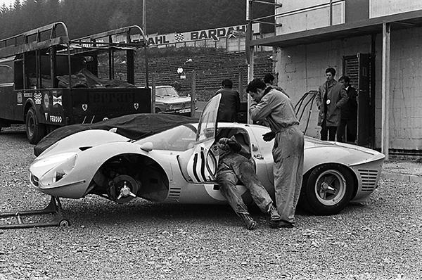 Ferrari, Spa-francorchamps, klemcoll
