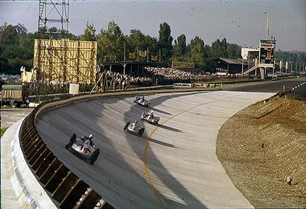 Mercedes, Monza, klemcoll