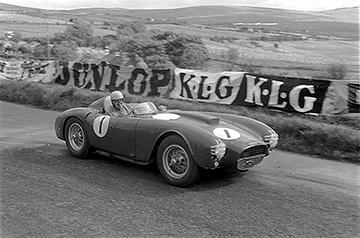 Lancia, Alberto Ascari, Dundrod, klemcoll