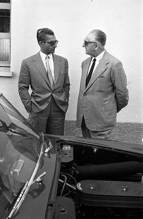 Enzo Ferrari,klkemcoll, Shah of Iran