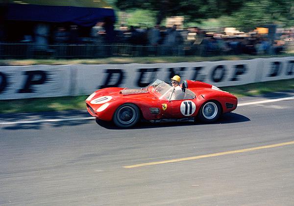 Paul Frere, Le Mans, klemcoll, Ferrari