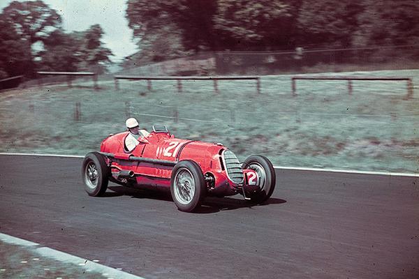 Alfa Romeo, Hans Ruesch, Crystal Palace, klemcoll
