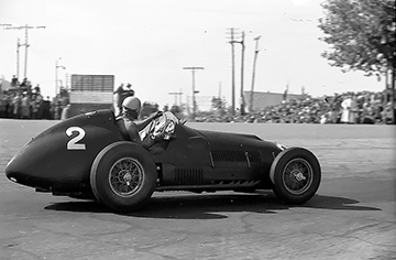 Alberto Ascari, Ferrari, klemcoll, Pedralbes