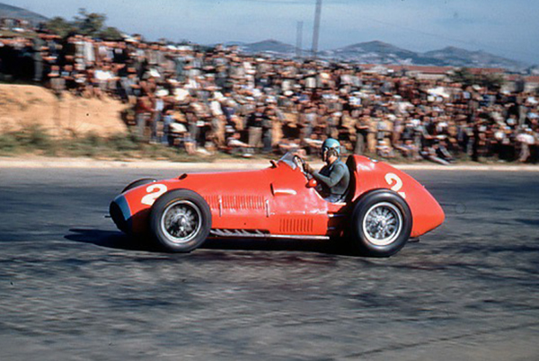 Alberto Ascari, Ferrari, klemcoll, Pedrables