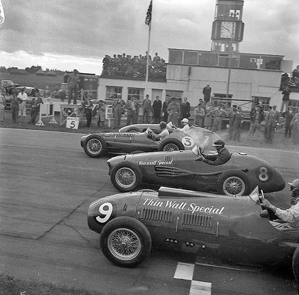 Maserati, BRM, Vanwall, Thin Wall, klemcoll, Goodwood