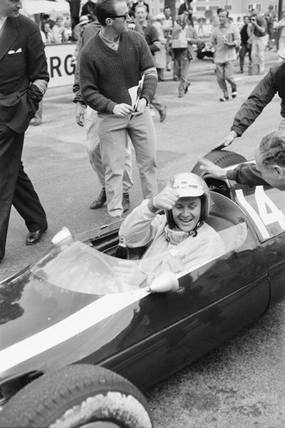 Bruce McLaren, Cooper, Monaco, klemcoll