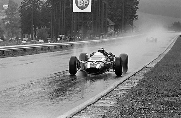 Cooper, Spa-Francorchamps, Jochen Rindt, John Surtees, klemcoll
