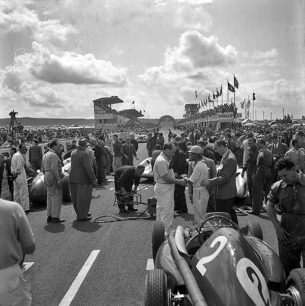 Reims, French Grand Prix, klemcoll, Fangio, Ferrari