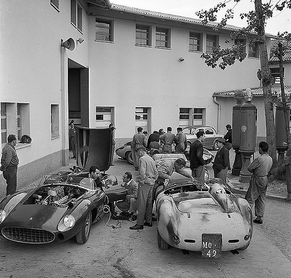 Ferrari, Maranello, klemcoll