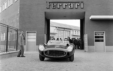 Ferrari, Maranello, Peter Collins, klemcoll