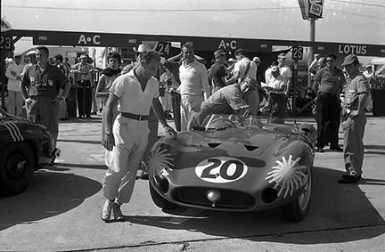 Maserati, Sebring, Stirling Moss, klemcoll