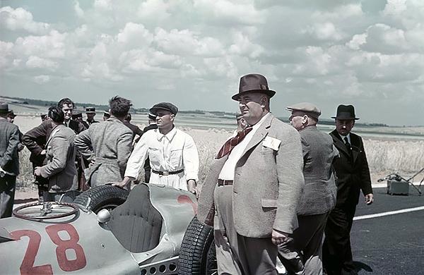 Mercedes, Alfred Neubauer, klemcoll, Reims