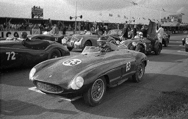 Ferrari, Mike Hawthorn, Goodwood, klemcoll