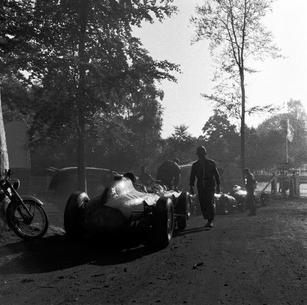 Juan Fangio, Maserati, klemcoll, Ferrari, Rouen-les essarts