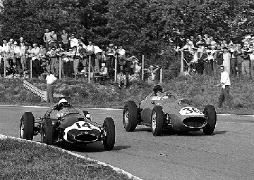 Stirling Moss, Dan Gurney, Monza, klemcoll