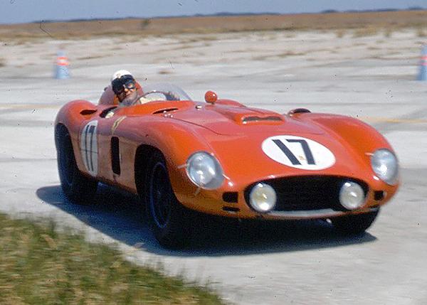 Ferrari, Sebring, Castellotti, klemcoll