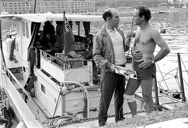 Stirling Moss, Innes Ireland, Monaco Grand Prix, klemcoll