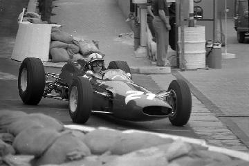 Ferrari, John Surtees, klemcoll, Monaco