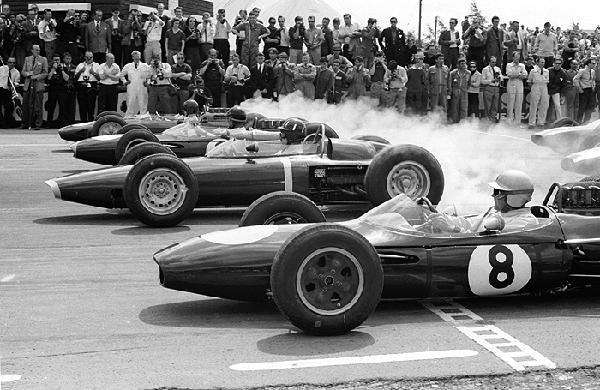 Jack Brabham, Brabham, Silverstone, klemcoll
