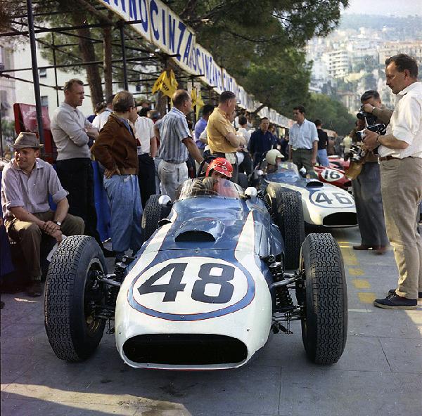 crab, Monaco Grand Prix, Lance Reventlow, klemcoll