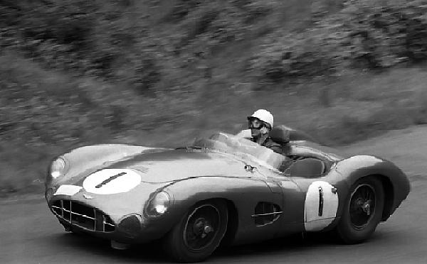Stirling Moss, Aston Martin, Nurburgring, klemcoll